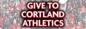Give to Cortland Athletics Ad Banner