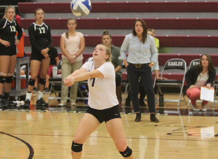 Emily Bruce Volleyball Chadron State College Athletics