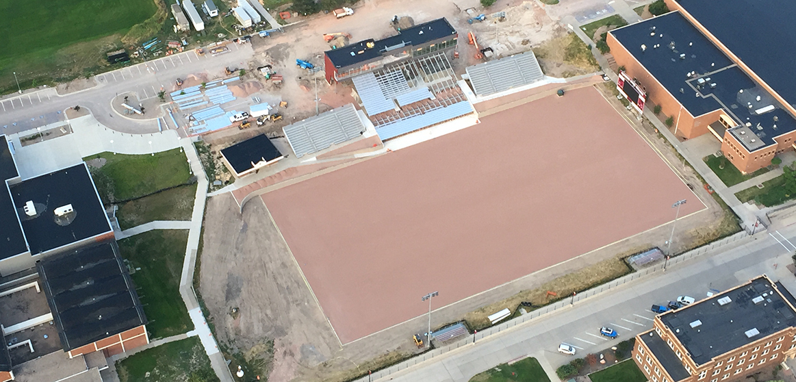 Stadium Project Enters Home Stretch Chadron State College Athletics