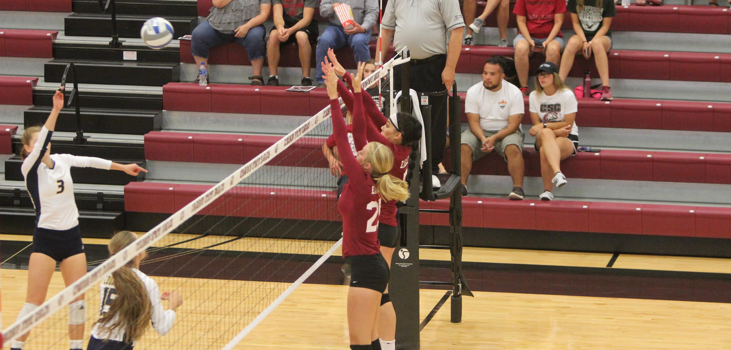 Timmi Keisel Volleyball Chadron State College Athletics