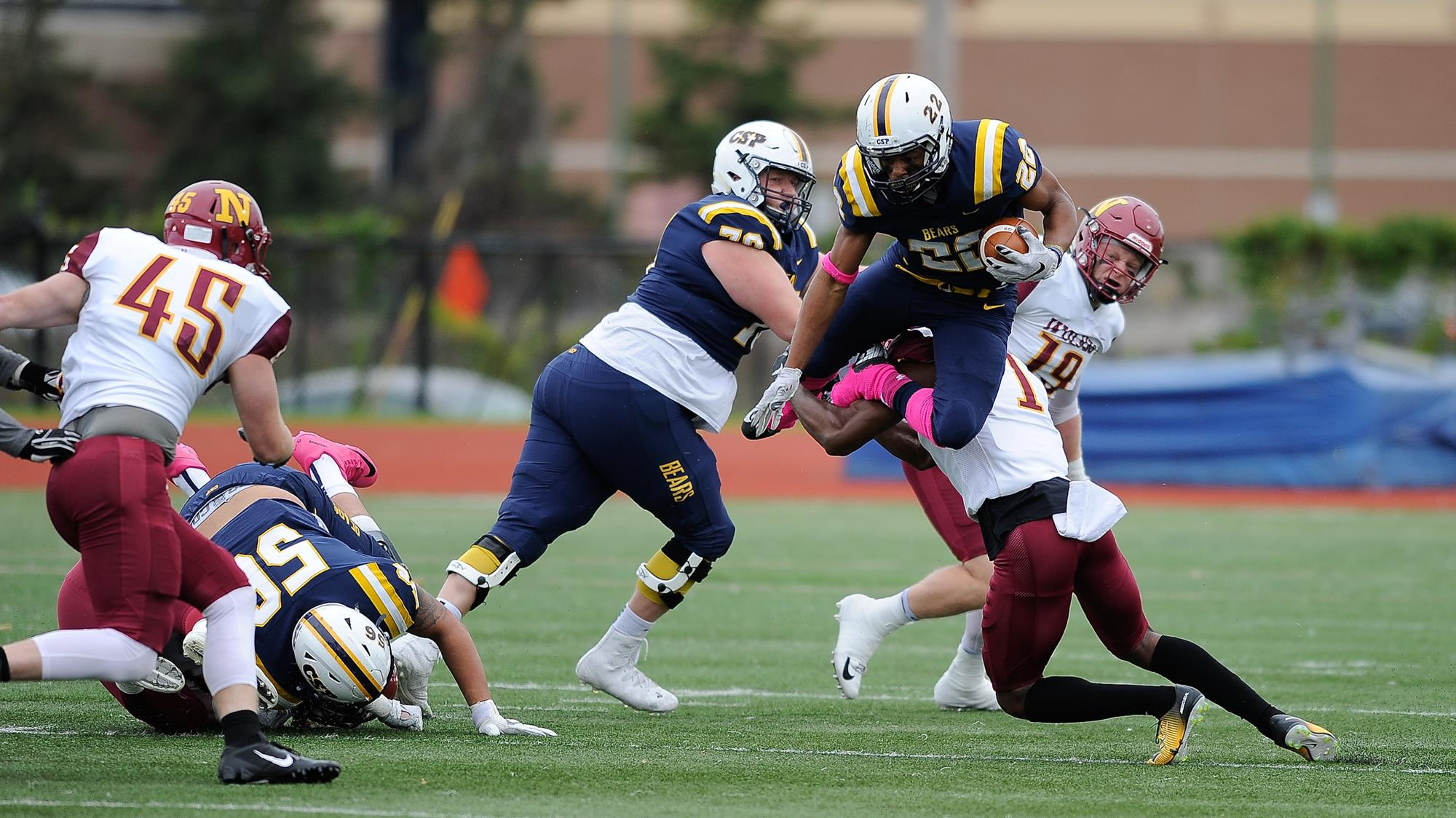 Turnovers Haunt Golden Bears In Homecoming Loss Concordia