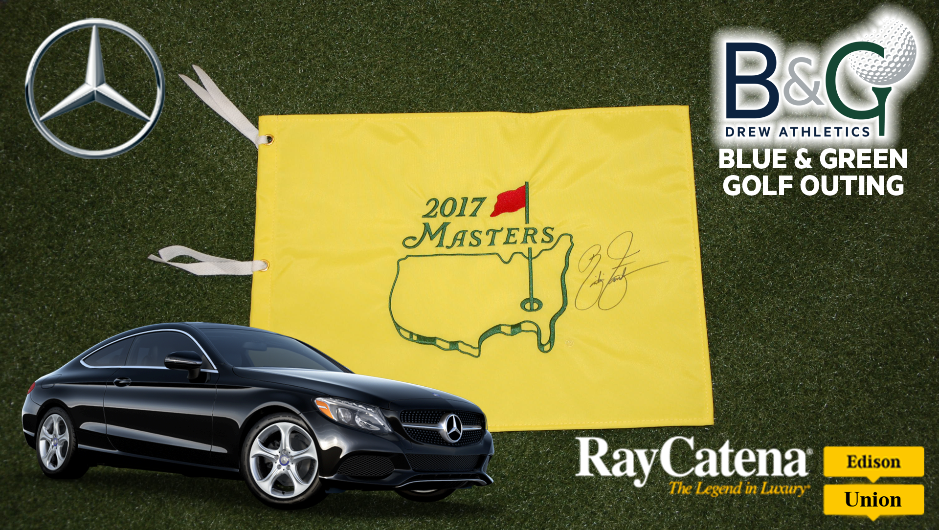 Ray Catena Mercedes Benz Sponsors Blue U0026 Green Golf Outing