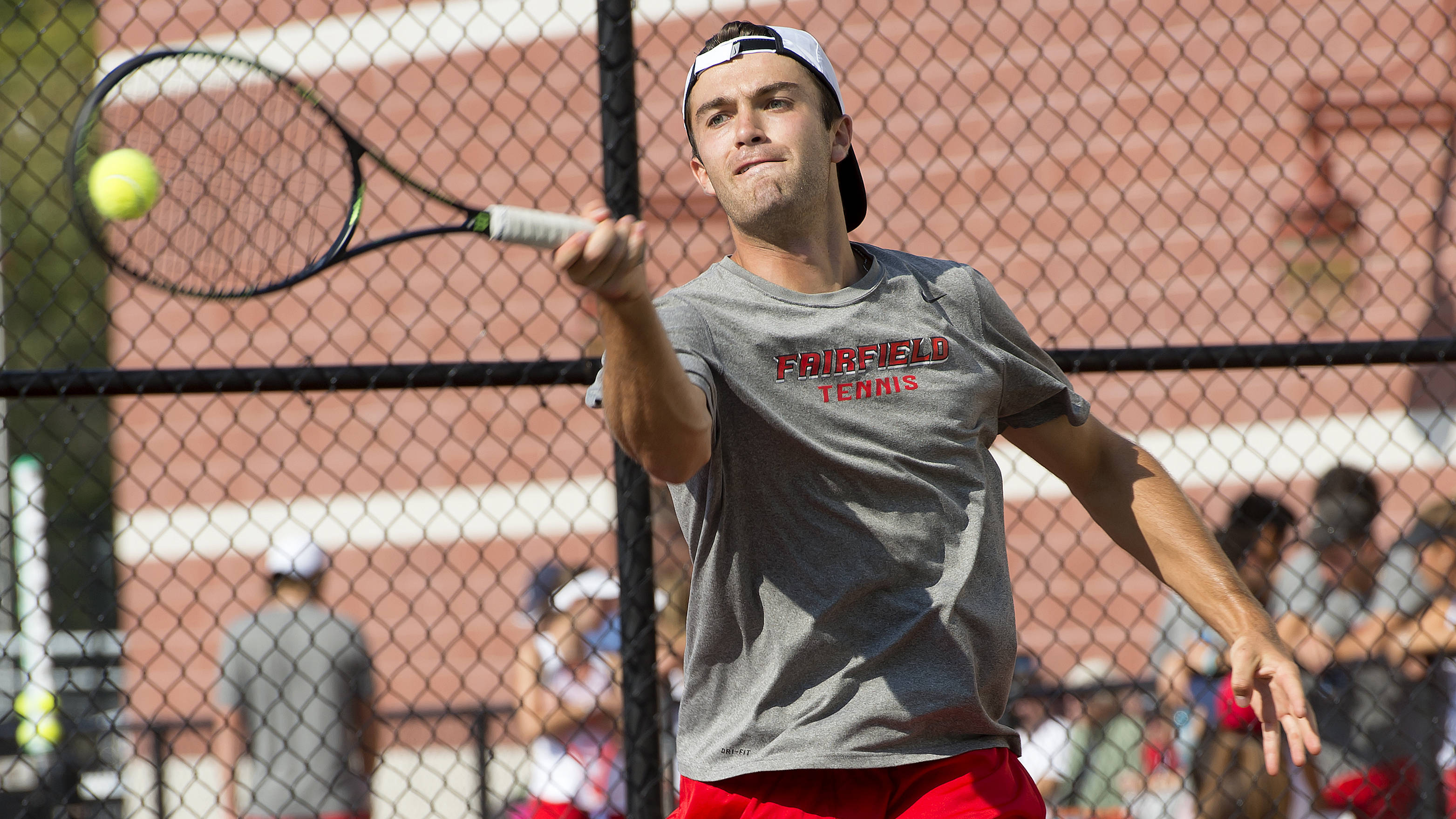Men S Tennis Finishes 0 3 At Yale Invitational Fairfield