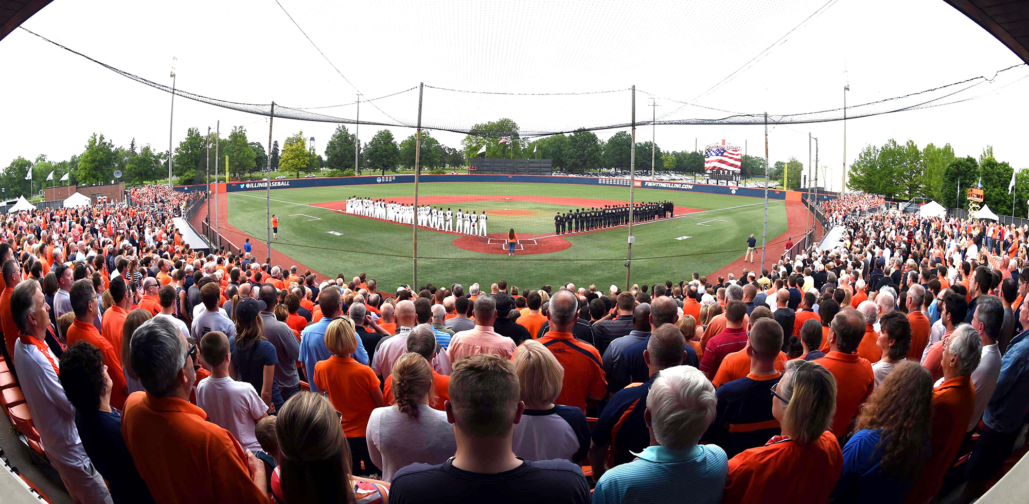 Image result for university of illinois baseball stadium