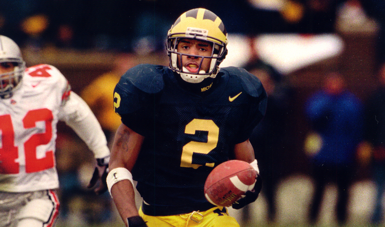 new product 89175 6fecd Michigan Legend Charles Woodson to Enter the College ...