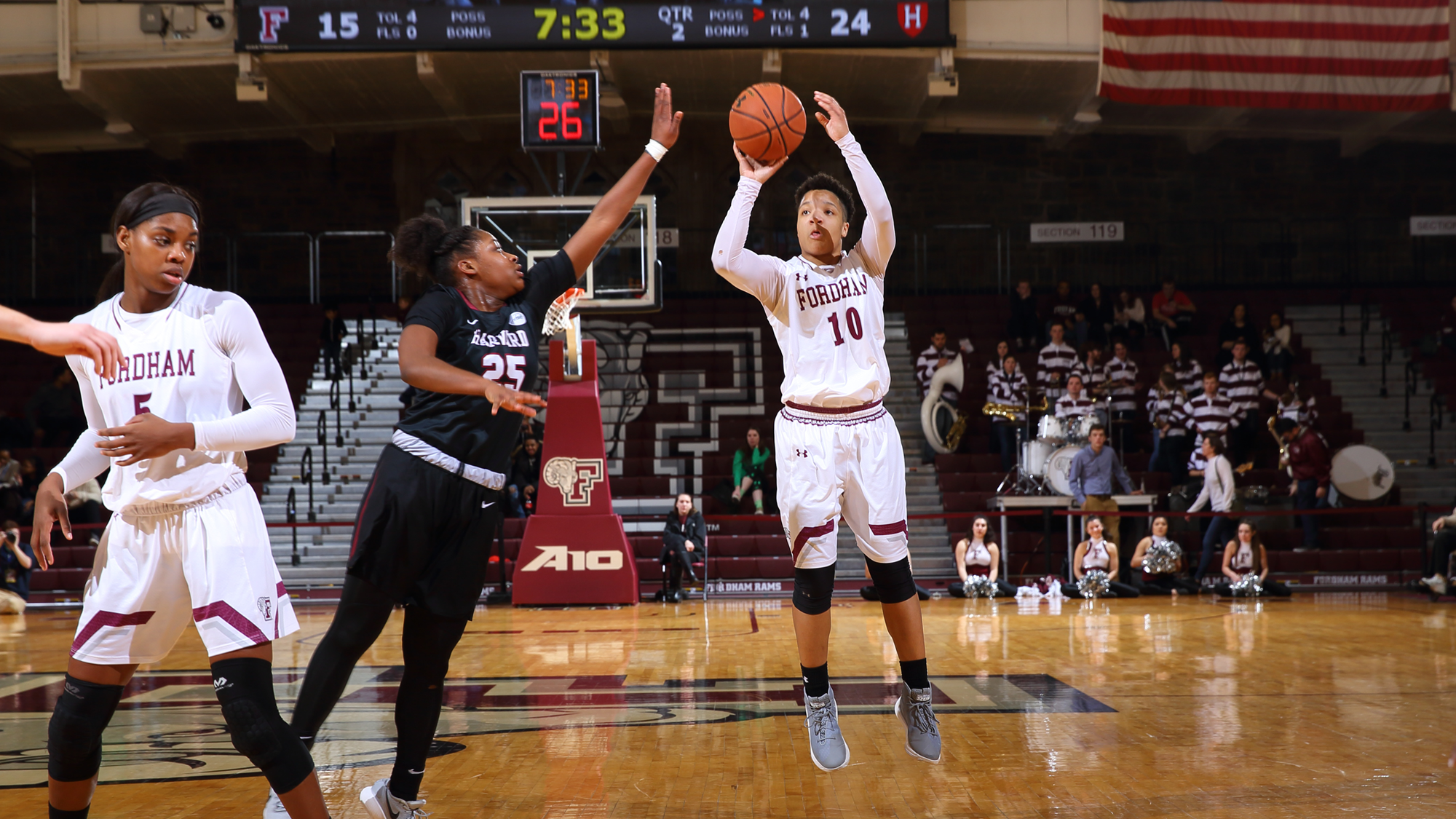 women's basketball uses second-half surge to race past harvard in