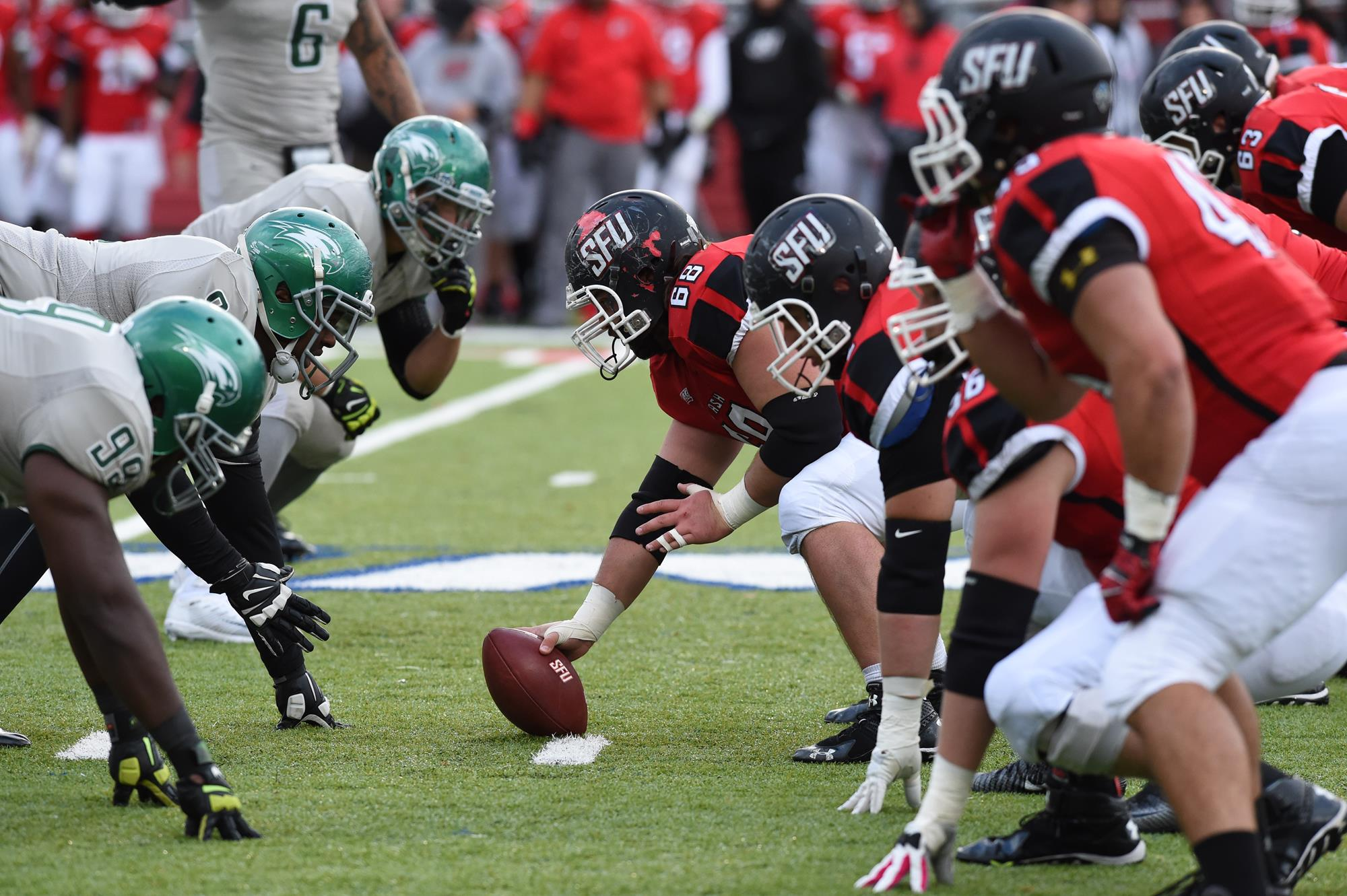 Football Scouting Report Wagner Saint Francis University Athletics