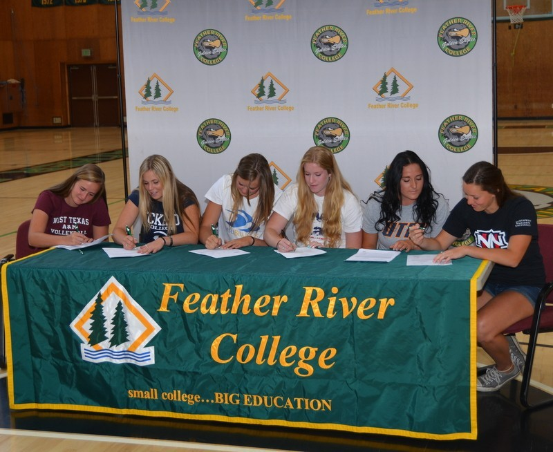 Feather River College Golden Eagle Athletics Volleyball