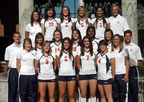 2008 Womens Volleyball Team