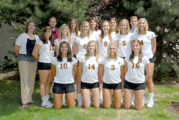 2008 Womens Volleyball Roster