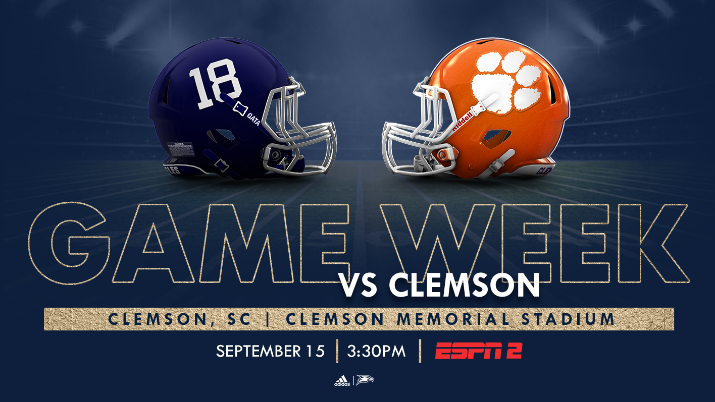 GAME PREVIEW: Eagles Head To Clemson For Big Test