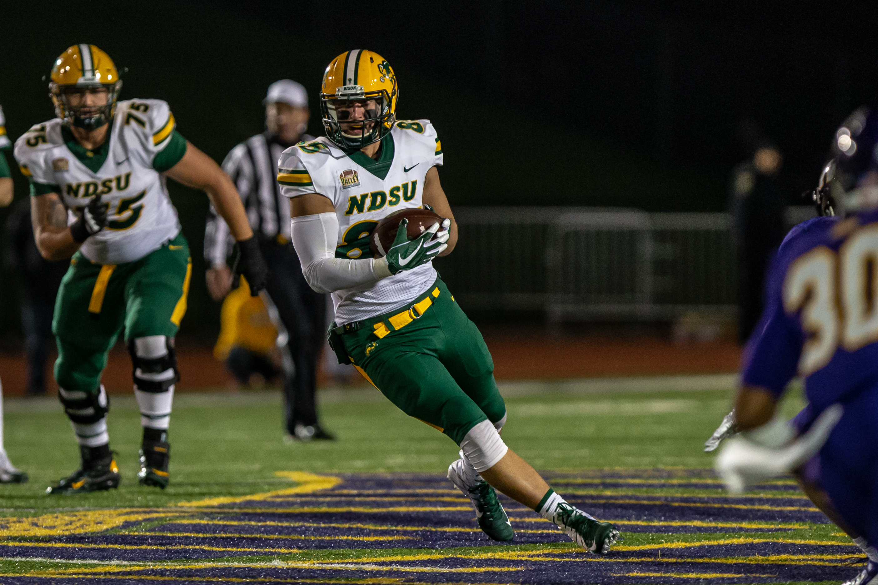 North Dakota State University Athletics - Nate Jenson - 2018 - North ... 3e68608f2