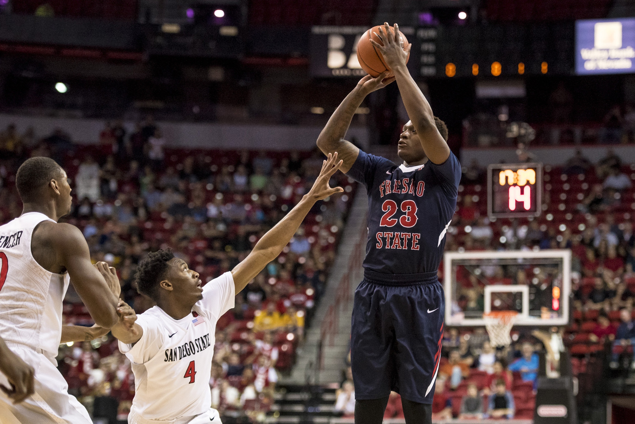 Marvelle Harris - Men's Basketball - Fresno State Athletics