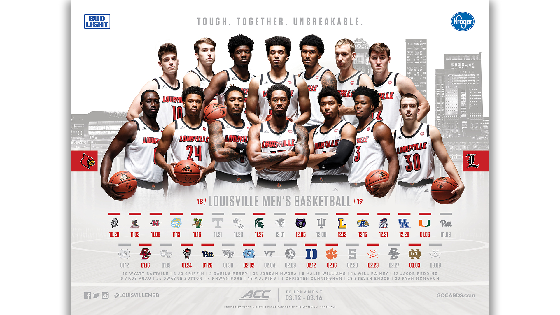 men's basketball posters available thursday - university of