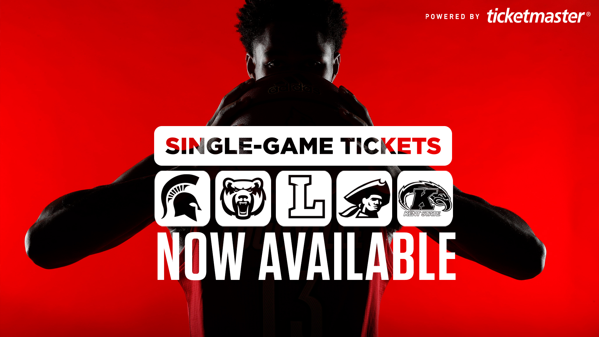 single-game tickets available for next five men's basketball home