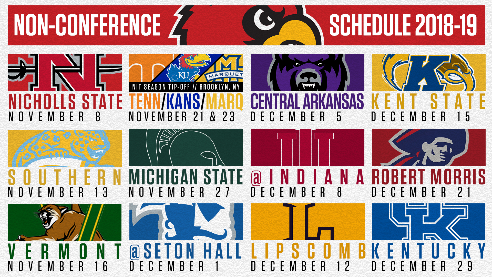 2018-19 non-conference slate provides daunting challenge