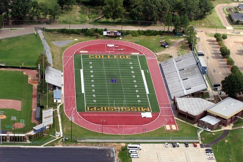 Mississippi College Athletics Robinson Hale Stadium James E