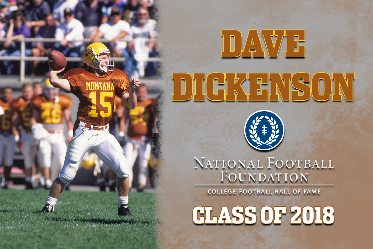 Dickenson To Be Inducted Into College Football Hall Of Fame