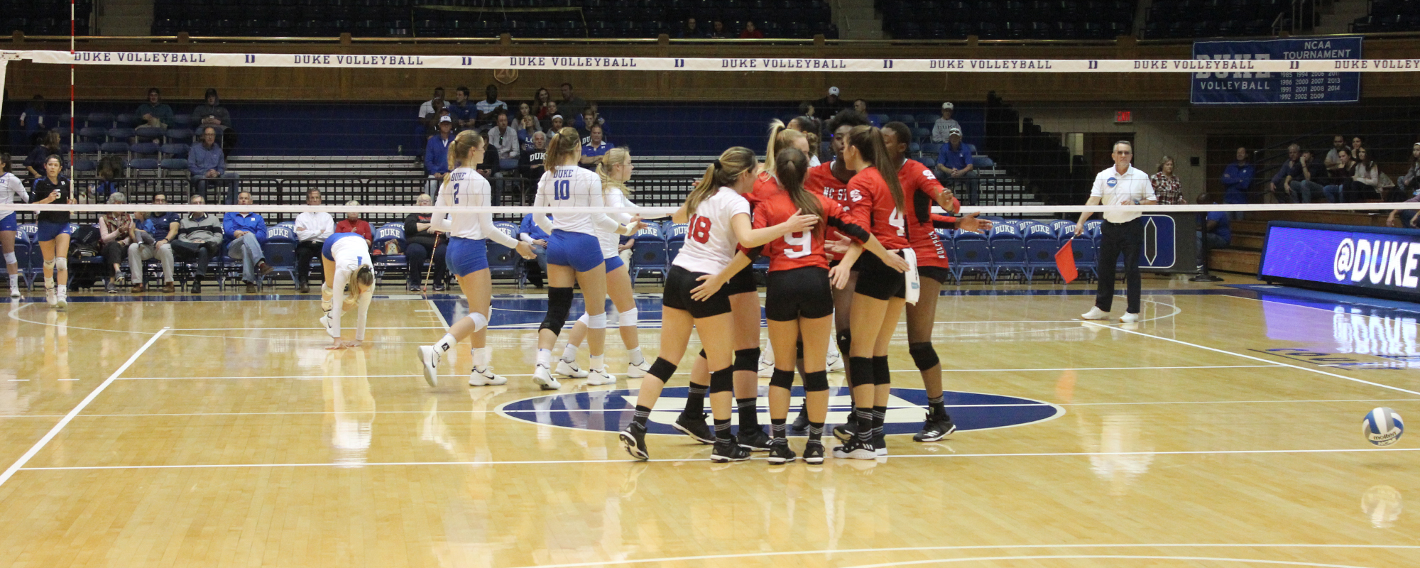 Duke Holds Off NC State Volleyball For Five Set Win