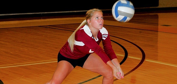Molly powers 39 16 women 39 s volleyball oberlin college - Regis college swimming pool hours ...