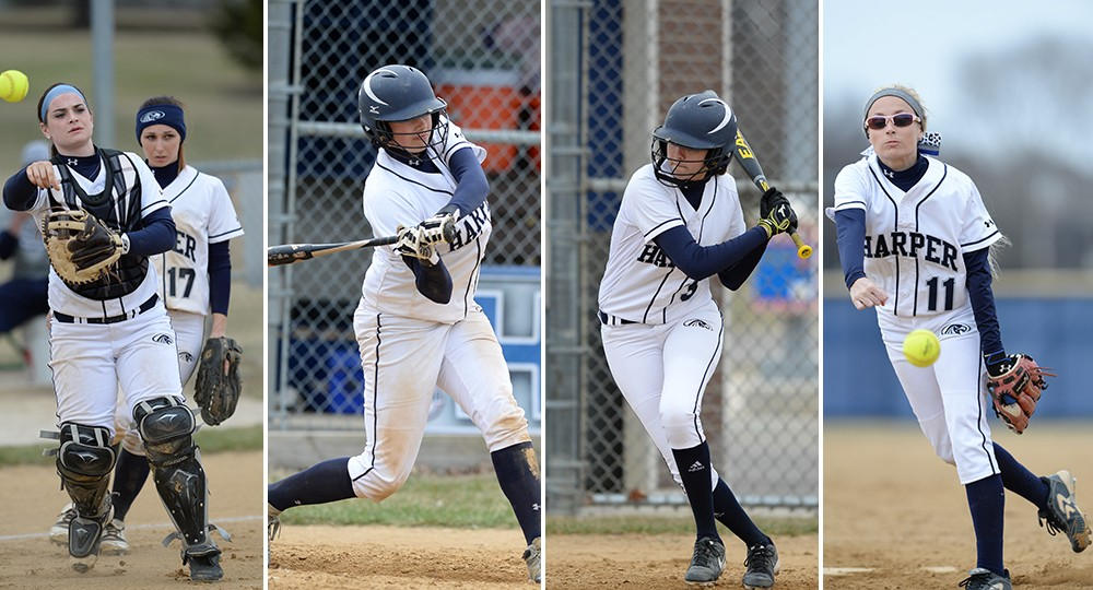 ecf87243fc3d1 Harper College - Four Hawks Tabbed as All-Conference Players
