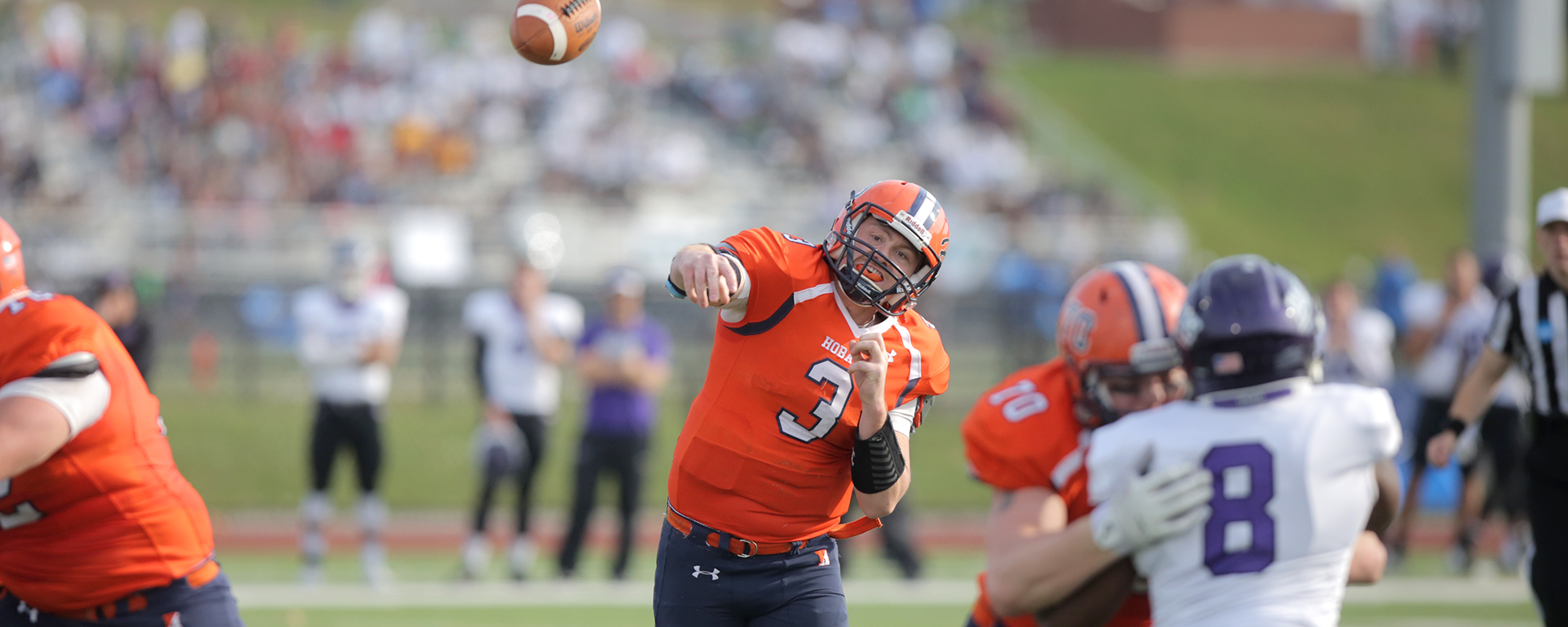 Late Push Carries Mount Union Past Hobart