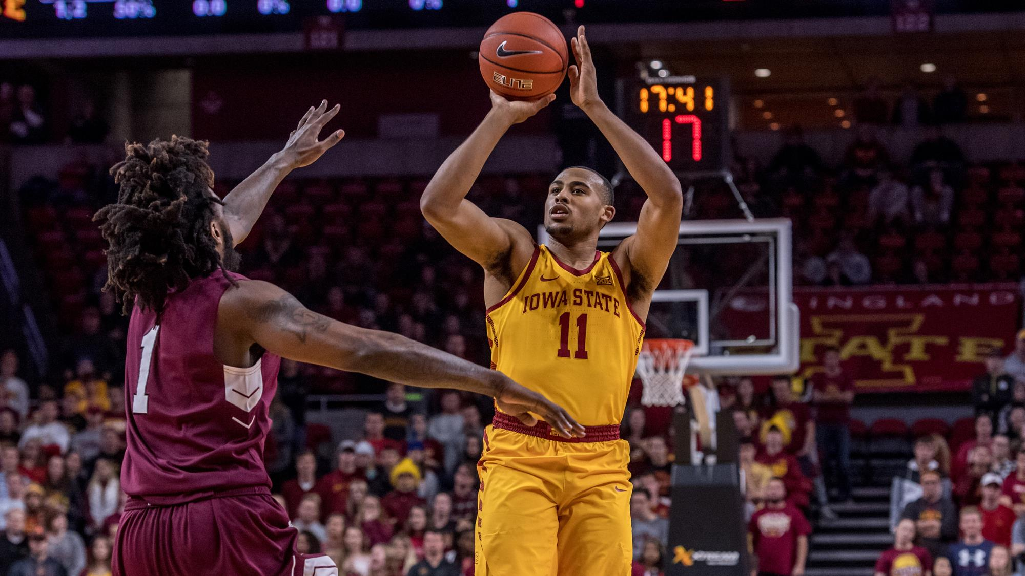 talen horton-tucker - men's basketball - iowa state university athletics