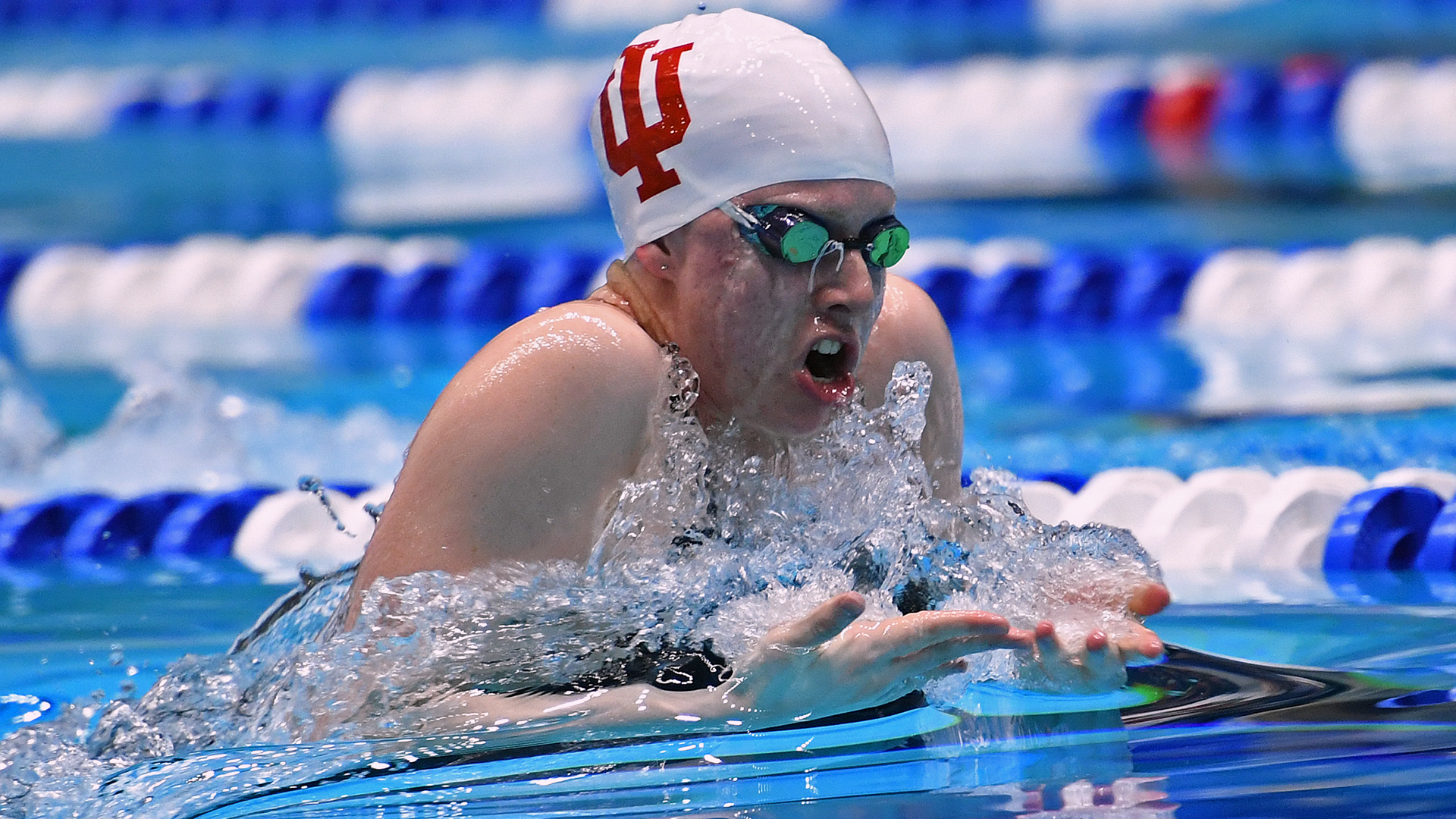 Indiana's King Named Big Ten Swimmer of the Week - Indiana