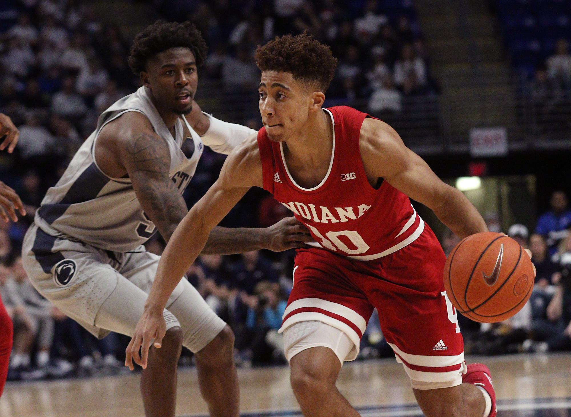 indiana a big ten unbeaten after surviving at penn state - indiana