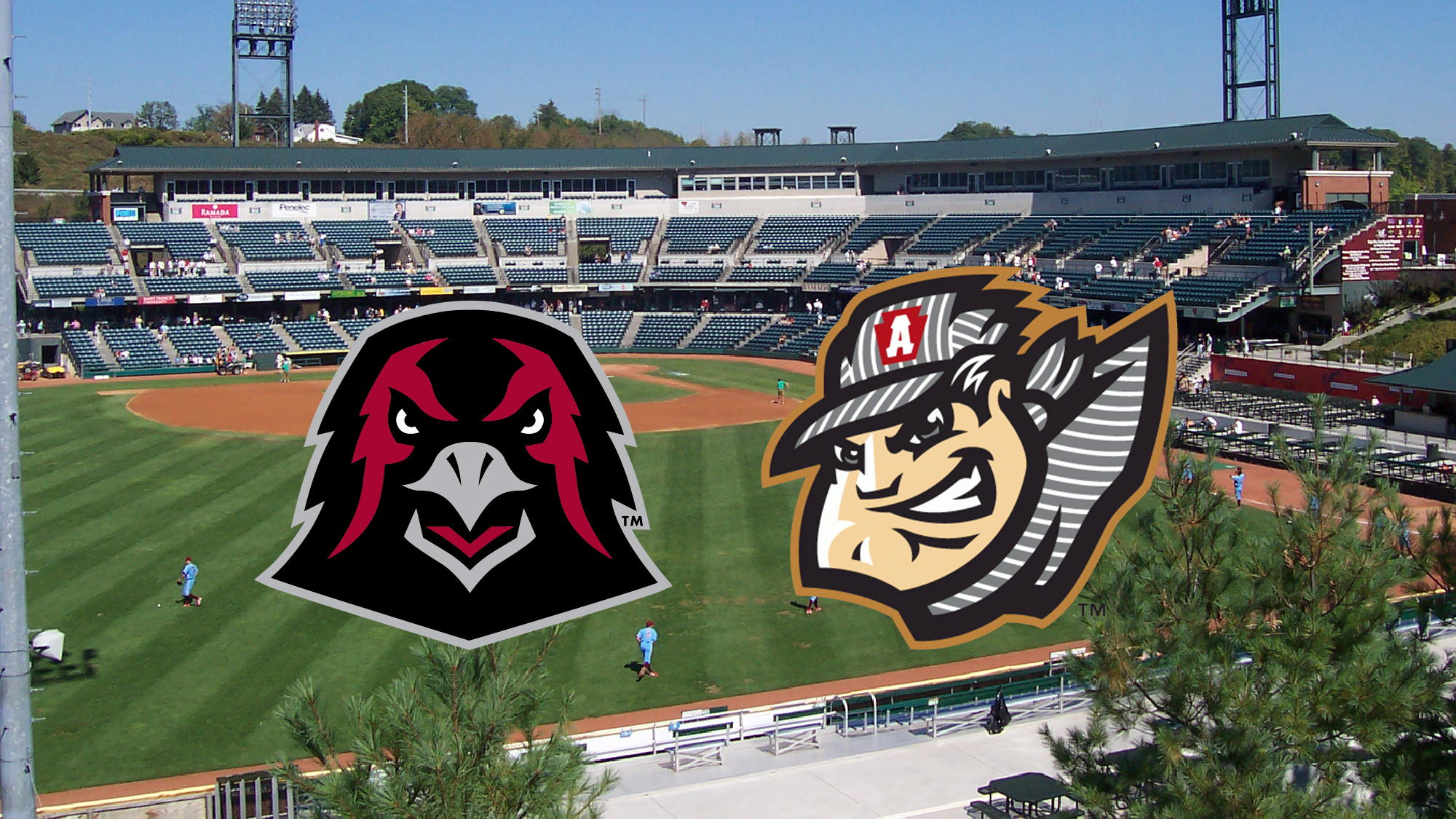 iup baseball to scrimmage pirates aa affiliate altoona curve april 2