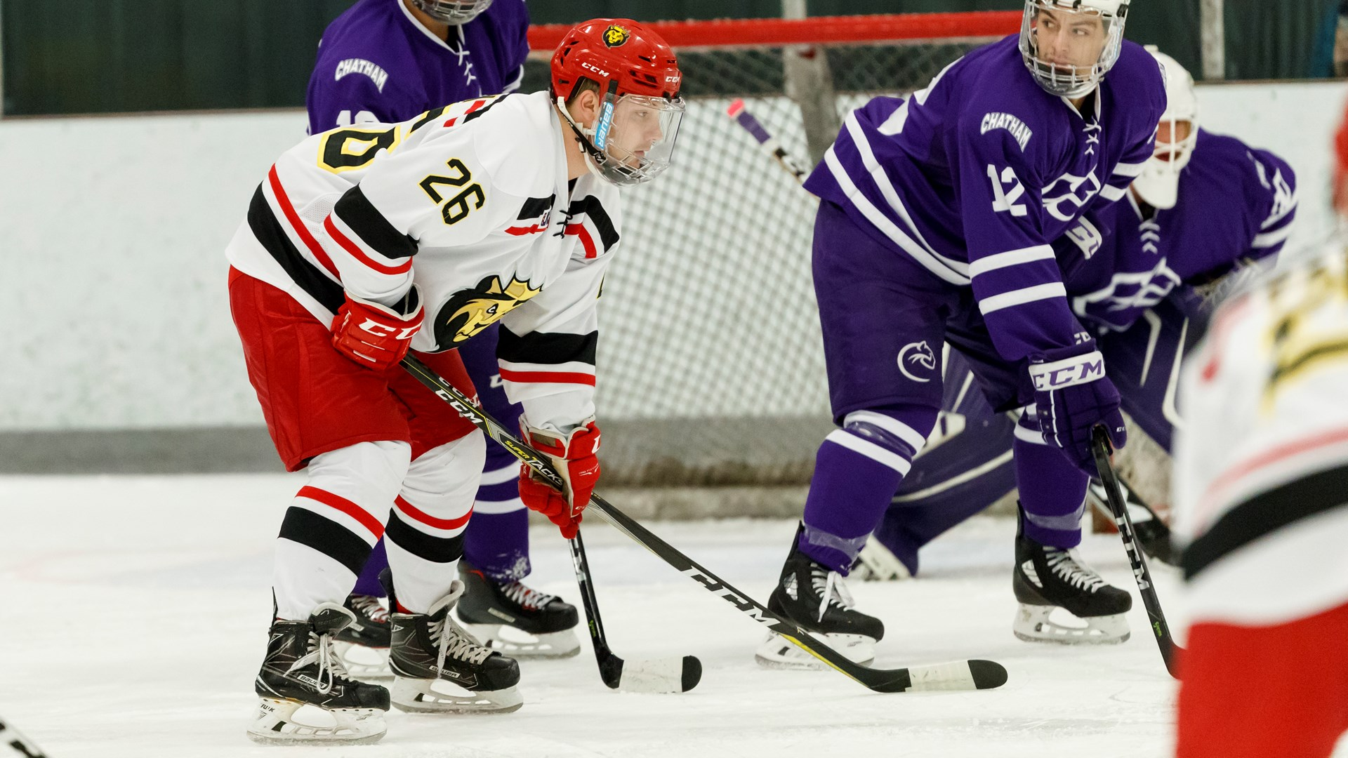 Men's Ice Hockey Rallies Past Neumann For First-Ever ...