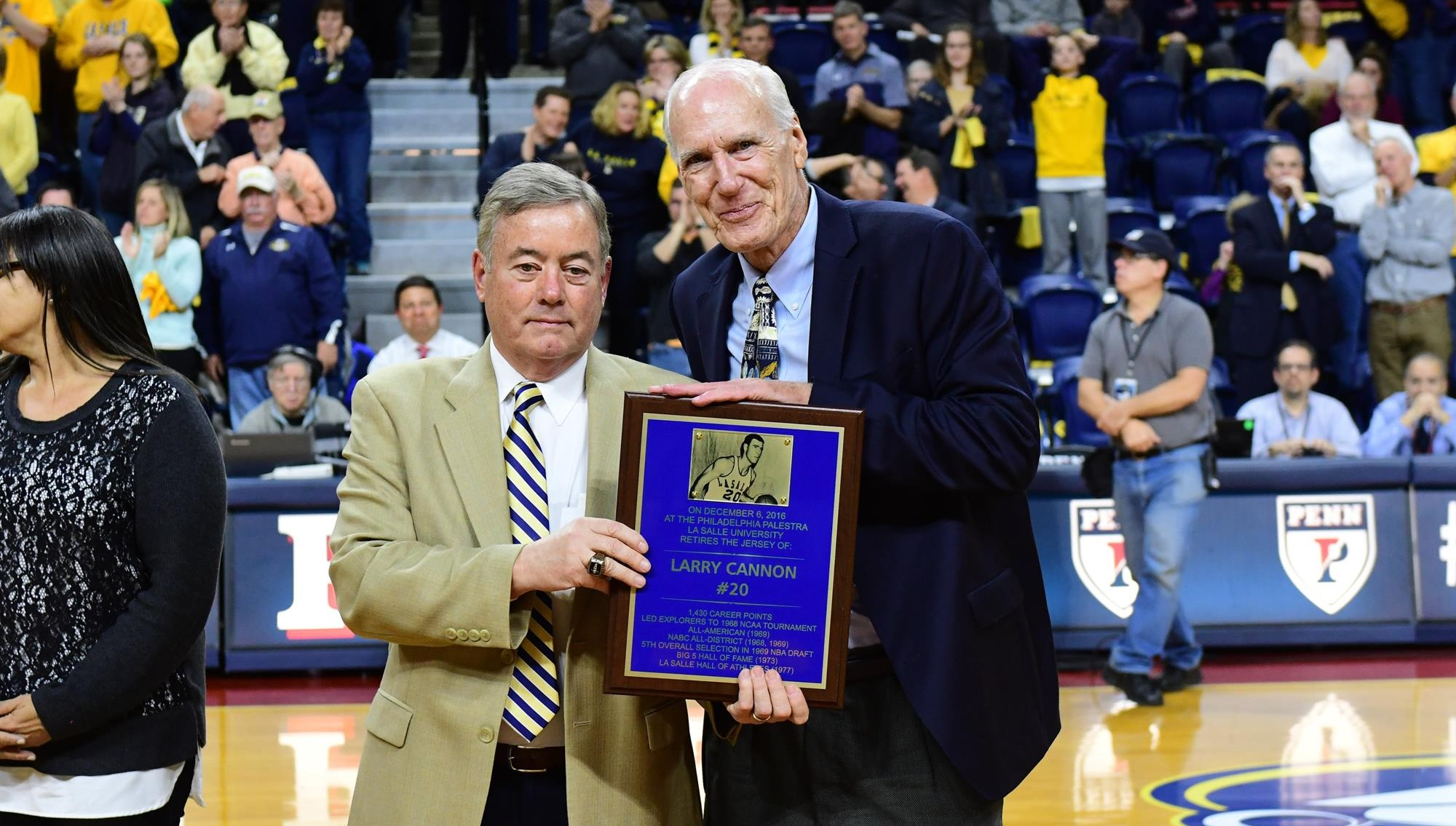 Mens Basketball Great Larry Cannon Elected To Middle Atlantic