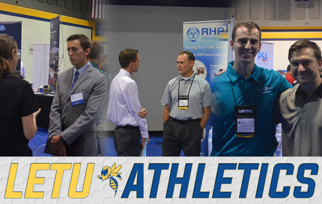 Letu Student Athletes Take Part In Career Fair Letourneau