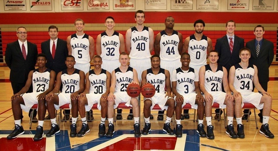 Malone University 2014 15 Men S Basketball Roster
