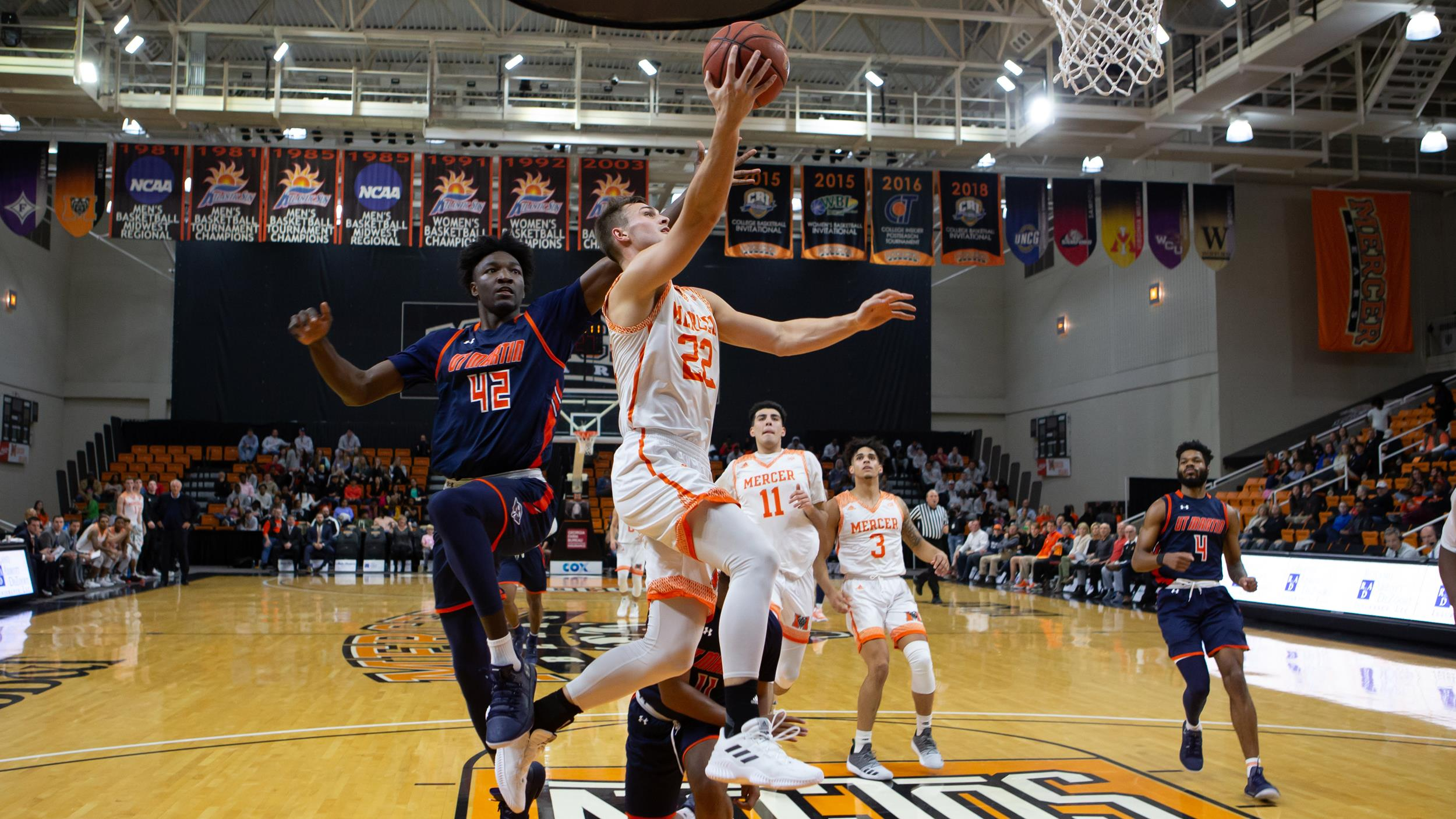 mercer plays host to maryland eastern shore tuesday night at hawkins