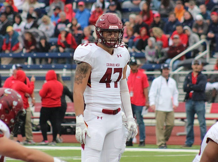 Image result for tommy saager colorado mesa football