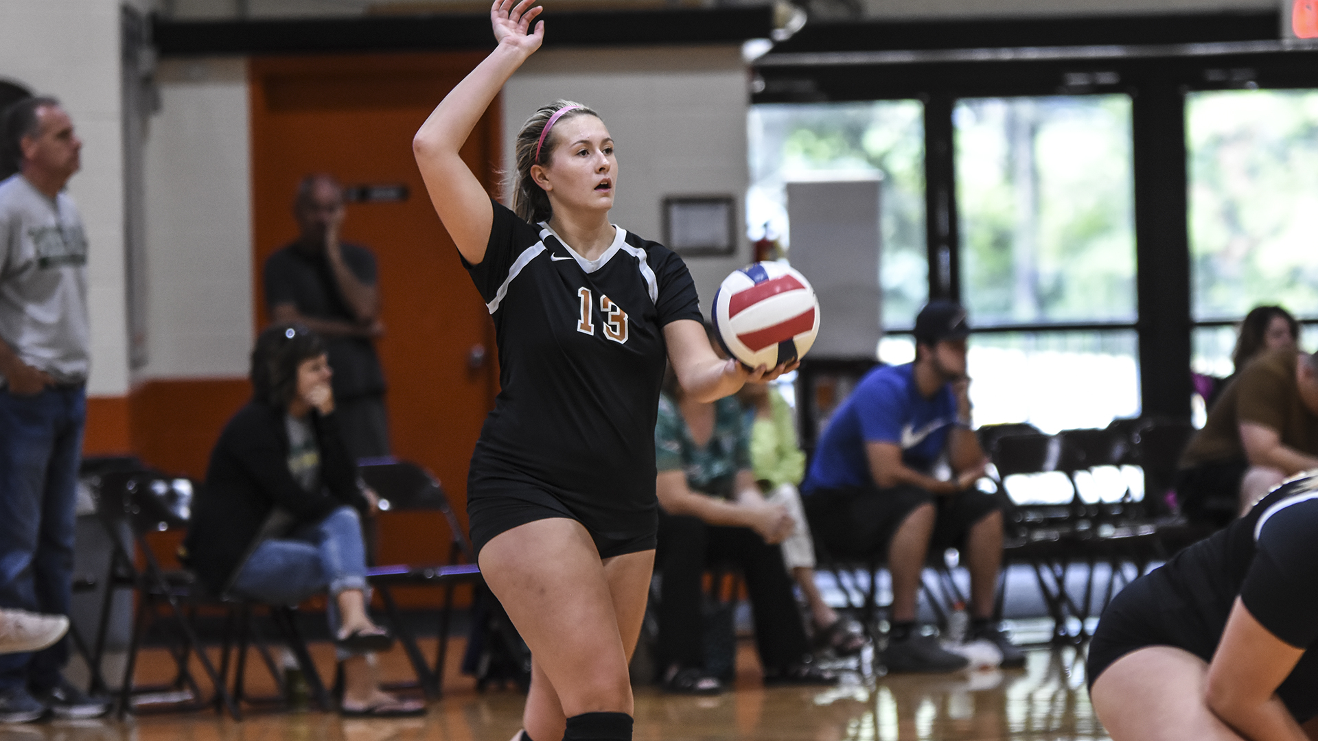 volleyball drops three setter to point milligan college athletics