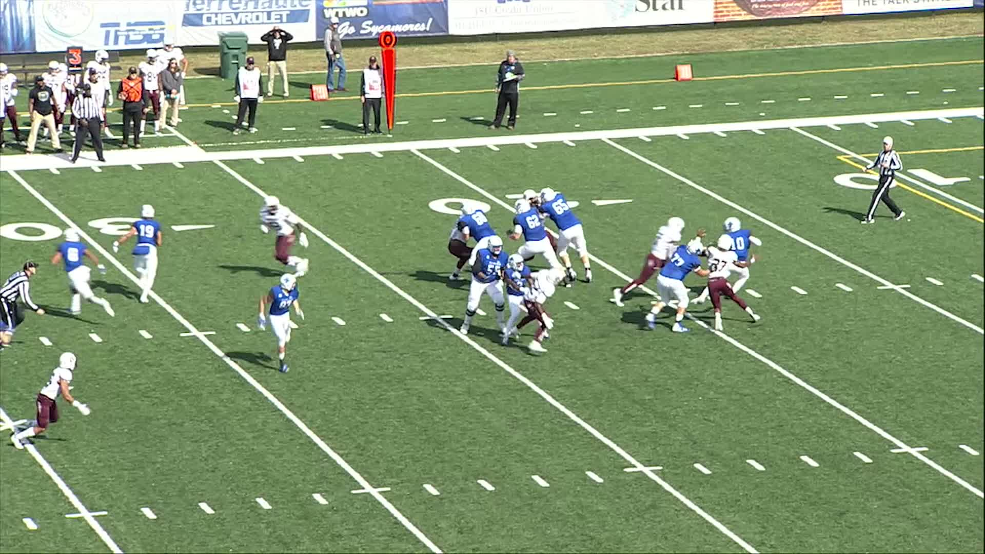 Football vs Indiana State (10/13)