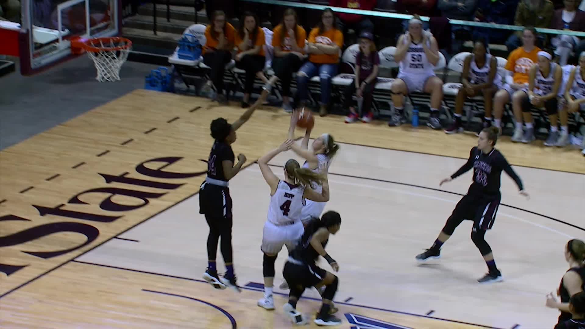 Women's Basketball vs SIU Highlights (1/13)
