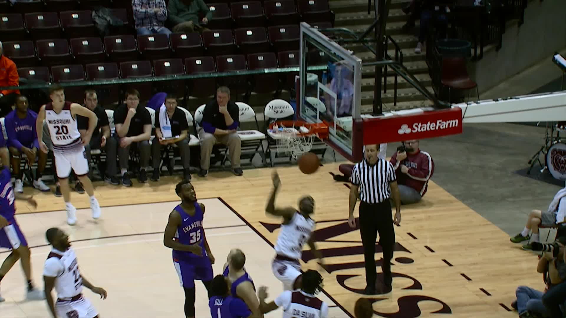 Men's Basketball vs Evansville Highlights (1/16)