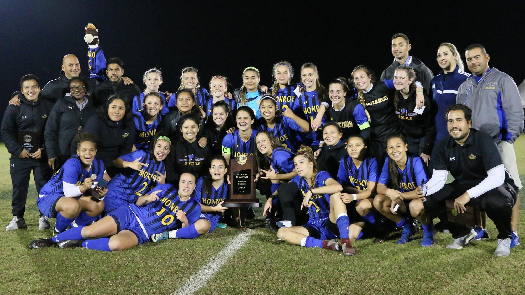 National Champions No 2 Monroe College Takes Home Njcaa National