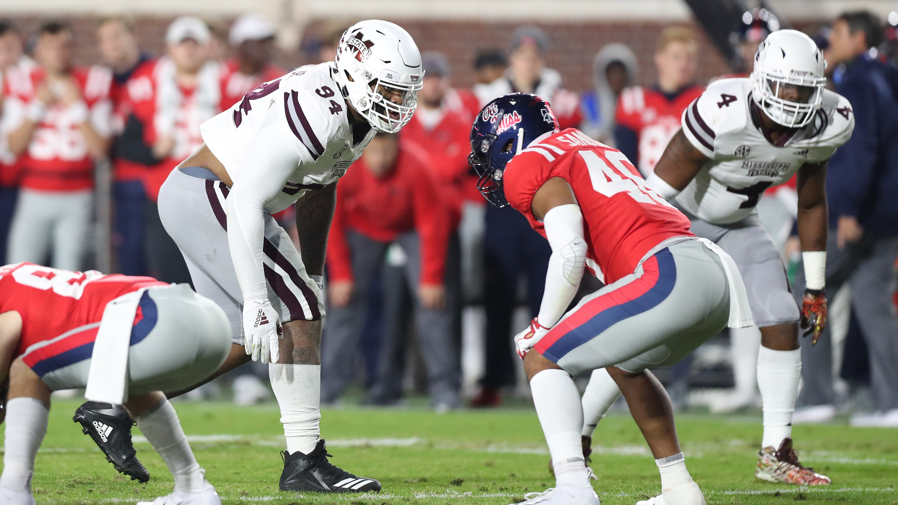 Jeffery Simmons Football Mississippi State