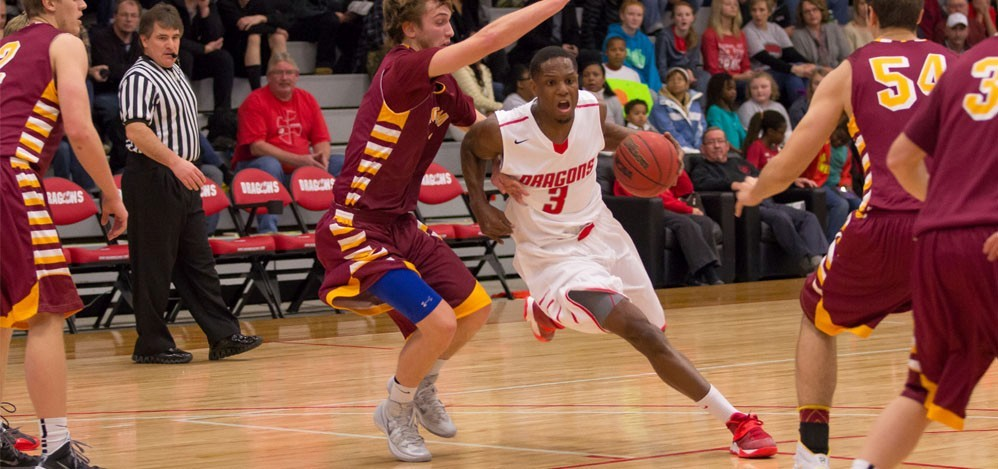 Dragon Men Pull Away in 2nd Half in 87-76 Victory over
