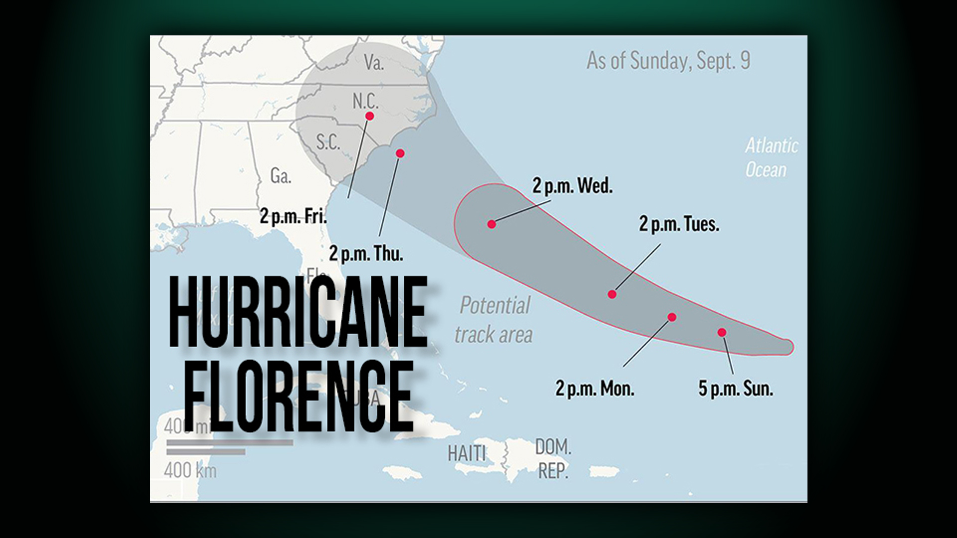 Hurricane Florence Alters Monarch Events