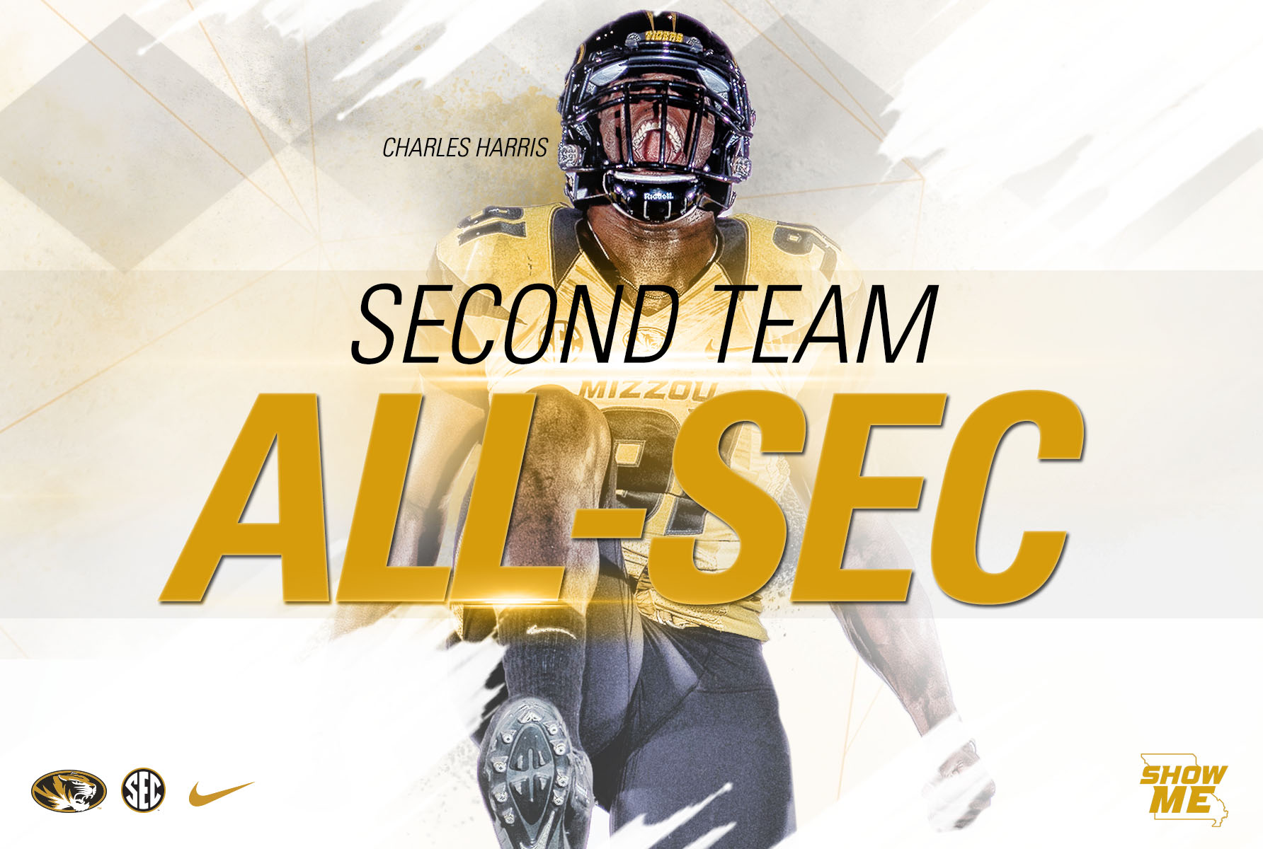 S Harris Named All Sec By League S Coaches University Of Missouri