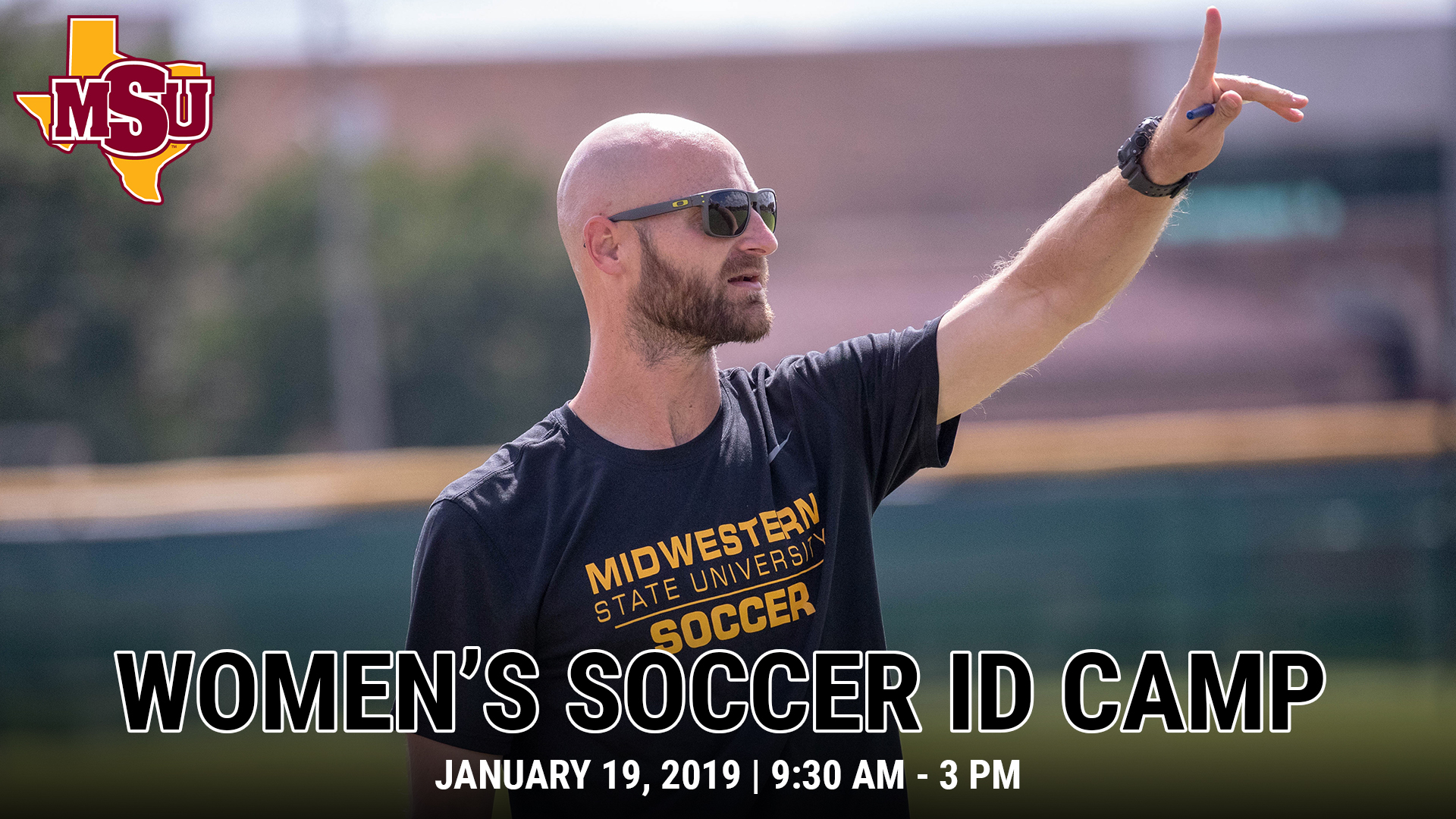 Midwestern State Women's Soccer ID Camp -- Jan. 19, 2019