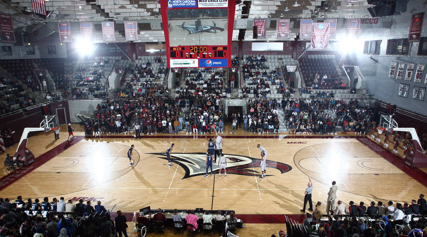 nccu mbb opens december against southern wesleyan and east carolina