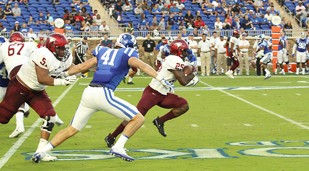 Totten S Td Run Highlights Nccu Loss At Duke North Carolina