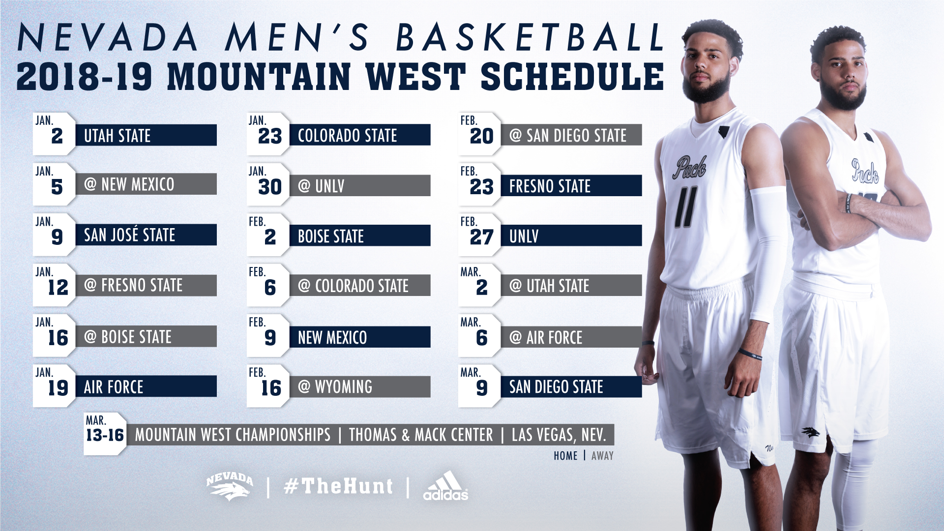 mountain west men s basketball schedule announced university of