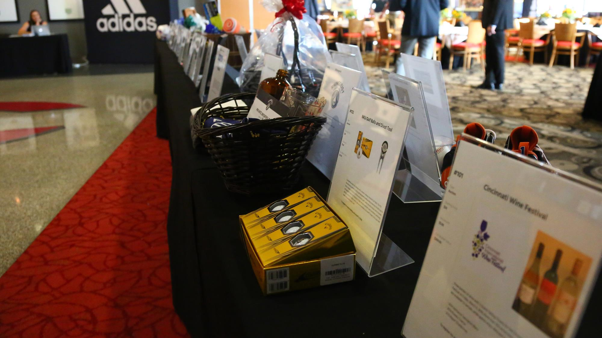 bidding on silent auction items for nkus a night with the norse gala is open